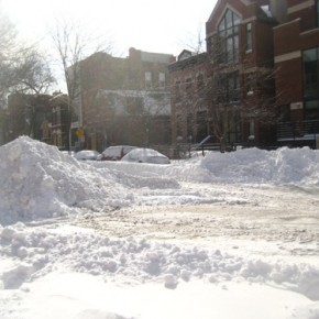 Wicker Park Snow Drift
