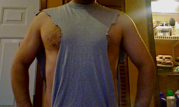 Nip Tuck: Men, Keep your nipples covered at Chicago Gyms
