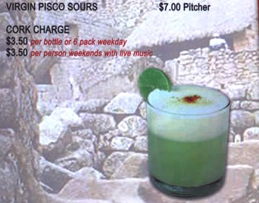 Chicago's Best BYOB: Taste of Peru & Pisco Sours