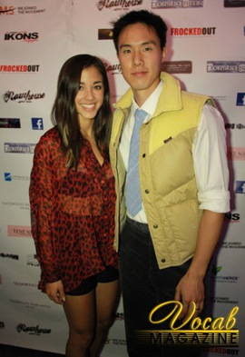 Seychelle Gabriel and MC Kato at NYFW