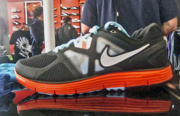 Runaway From me Baby: Tara D & Nike Collaborate on Lunarglide +3, the Chicago Running Shoe
