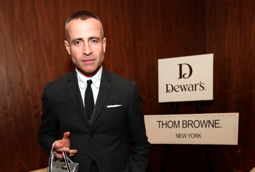 Scotch and a Talk with Thom Browne