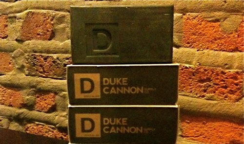 Duke Cannon bricks of soap