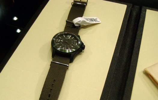 swiss army victoronix green original watch