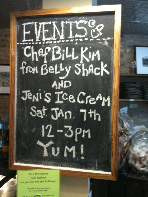 Bill Kim Belly Shack and Jeni's Ice Cream Ohio